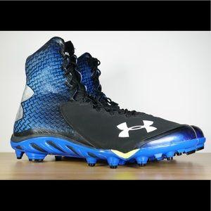 4f9e5ce8e794 Under Armour Shoes - Under Armour UA Spine Brawler Football Cleats Blue